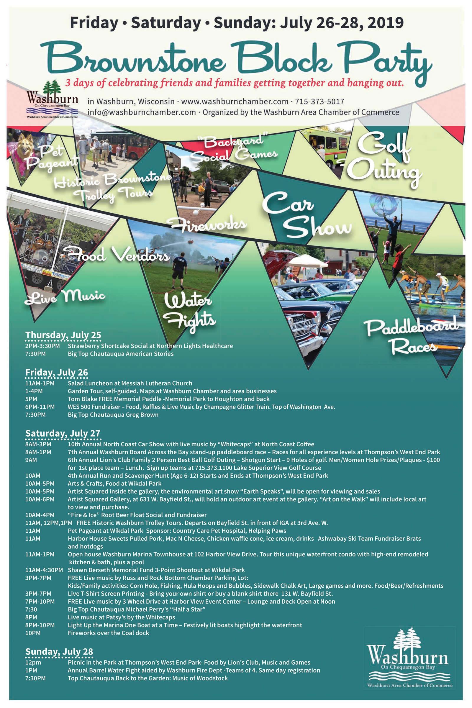 Brownstone Summerfest Block Party